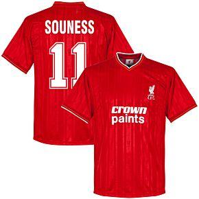1986 Liverpool Home Retro Shirt + Souness 11