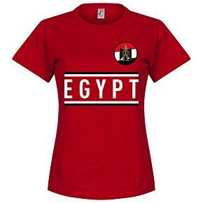 Egypt Team Womens Tee - Red