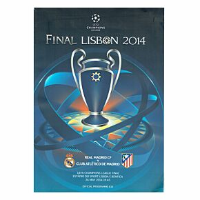 2014 UEFA Champions League Final Program