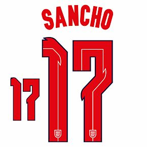Sancho 17 (Official Printing) - 20-21 England Home