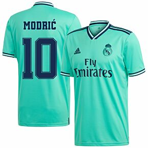 adidas Real Madrid 3rd Modric 10 Jersey 2019-2020 (Fan Style Printing)