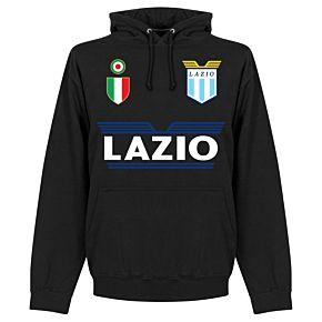 Lazio Team Hoodie - Black