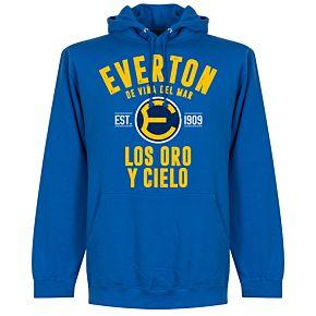 Everton de Chile Established Hoodie - Royal