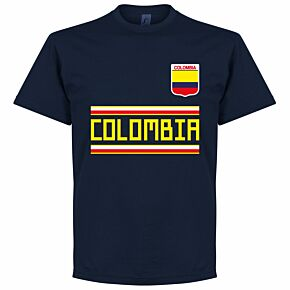 Colombia Team Tee - Navy