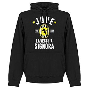 Juve Established Hoodie - Black