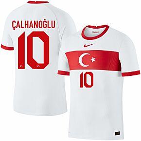 20-21 Turkey Vapor Match Home Shirt + Çalhanoğlu 10 (Official Printing)