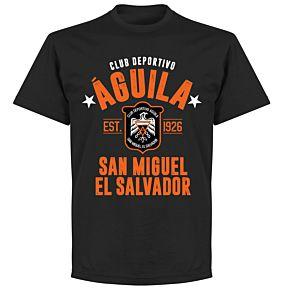 Club Deportivo Aguila Established T-shirt - Black