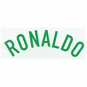 Ronaldo (Name Only) - 07-09 Portugal Away Official Name Transfer