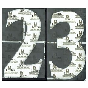 02-04 England Away Official Back Numbers