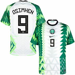 20-21 Nigeria Home Shirt + Osimhen 9