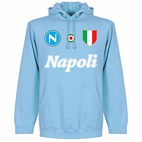 Napoli Team Hoodie  - Sky