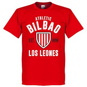Bilbao Established Tee - Red