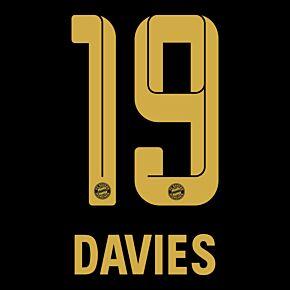 Davies 19 (Official Printing) - 21-22 Bayern Munich Away