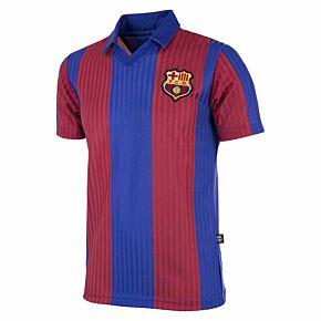 90-91 Barcelona Home Retro Shirt