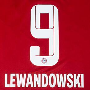 Lewandowski 9 (Official Printing) - 21-22 Bayern Munich Home KIDS