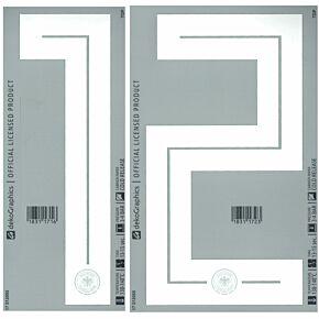18-19 Germany AwayBack Number Sets (260mm)