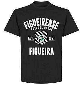 Figueirense Established T-Shirt - Black