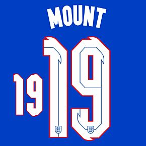 Mount 19 (Official Printing) - 20-21 England Away