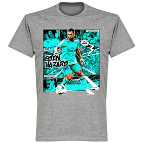 Hazard Comic Tee - Grey