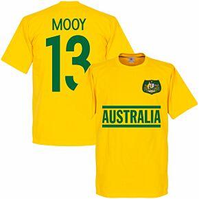 Australia Mooy 13 Team Tee - Yellow