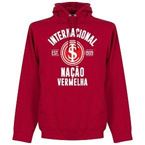 Internacional Established Hoodie - Red