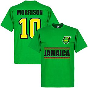 Jamaica Morrison 10 Team Tee - Green