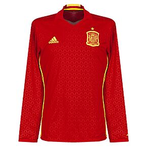 Spain Home L/S Jersey 2016 / 2017