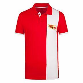 FC Union Berlin Retro Polo Shirt - Red/White