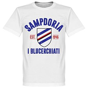 Sampdoria Established Tee - White