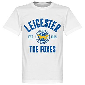 Leicester Established Tee - White