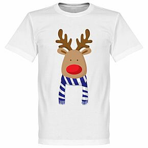 Reindeer Chelsea Supporters Tee - White