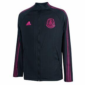 20-22 Mexico Anthem Jacket - Black/Pink