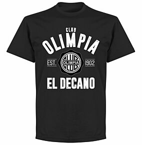 Olimpia Established T-Shirt - Black