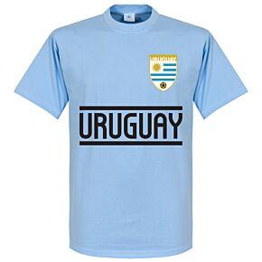 Uruguay Team Tee - Sky