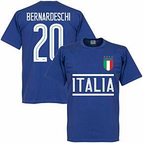 Italy Bernardeschi Team Tee- Royal