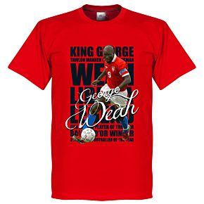 George Weah Legend Tee - Red