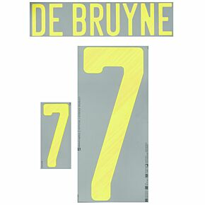 De Bruyne 7 - Belgium Home Kids (Official)