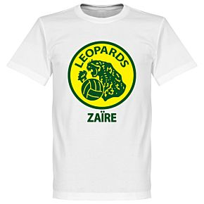 Zaire Leopards Tee - White