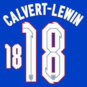 Calvert-Lewin 18 (Official Printing) - 20-21 England Away