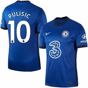 20-21 Chelsea Home Shirt + Pulisic 10 (Premier League)