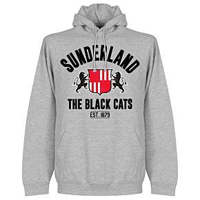 Sunderland Established Hoodie - Grey