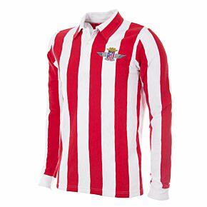 39-40 Atletico Madrid Home Retro Shirt