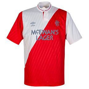 Umbro Glasgow Rangers 1985-1986 Away Jersey - USED Condition (Good) - Size M