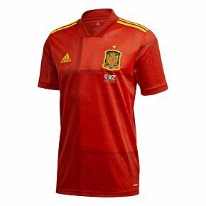 20-21 Spain Home Shirt + 2020 Transfer