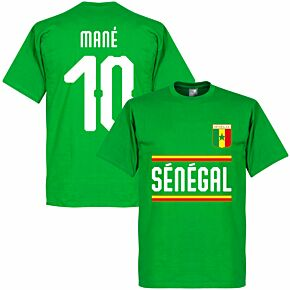 Senegal Mané 10 Team Tee - Green