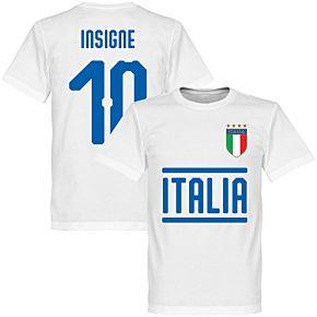 Italy Insigne 10 Team Tee - White