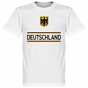 Germany Team Tee - White