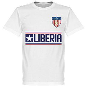 Liberia Team Tee - White