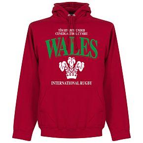 Wales Rugby Hoodie - Red