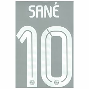 Sane 10 (Official Printing) - 20-21 Bayern Munich 3rd C/L